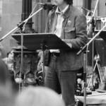Martin Jürges auf dem Römerberg ca. 1979 Foto: Kurt-Helmuth