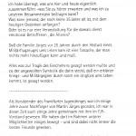 Wort des Frankfurter Jugendrings zum 25. Todestag von Wolfgang Schrank