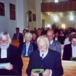 Gottesdienst am 25. Mai 2008 mit Pfarrer Johannes Herrmann und Diakon Kurt Kirmes am 25.5.2008